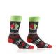 Balls Men's Crew Socks by Yo Sox Unpackaged View