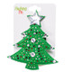 Christmas Felt Flashing Brooches  Tree