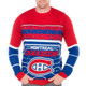 NHL Montreal Canadiens Light Up Sweater - Close Up