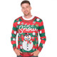 Let It Snow Matching Ugly Sweater Shirt for Adults - Men's