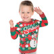 Let It Snow Matching Ugly Sweater Shirt for Toddlers