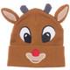 Rudolph Big Face Cuff Knit Toque