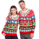 Got Milk and Cookies Ugly Christmas Sweater Couple - World's Best