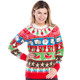 Got Milk and Cookies Ugly Christmas Sweater Women's - World's Best