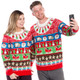 Got Milk and Cookies Ugly Christmas Sweater Couples - World's Best