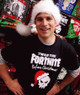 Fortnite Before Christmas T-Shirt Black - Youth & Adult Sizes