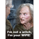 Princess Bride WIFE Flat Magnet