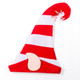 Felt Christmas Elf Hats Red and White