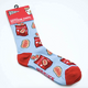 Canadian Ketchup Chips Socks Package
