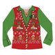 Ladies Ugly Christmas Vest - Flat