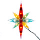 Multi-Colour Faceted Star of Bethlehem Christmas Tree Topper