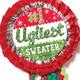Close-up - #1 Ugliest Sweater Ribbon