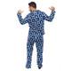 Toronto Maple Leafs 2-Piece Cozy Christmas Pajamas - Men's Back
