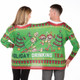 "Holiday Drink Team 2-Person Ugly Christmas ""Sweater"", back"