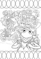 Muppet Movie Colouring Page