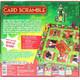 Elf The Movie Card Scramble Board Game Back View