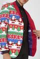Snazzy Santa Blazer by OppoSuits  open
