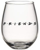 Friends Stemless Drinking Glass, 20-Ounce by Silver Buffalo