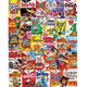 Cereal Boxes Collage Puzzle