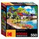 Auvezere River France 550 Piece Kodak Puzzle in Box