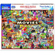 The Movies Jigsaw Puzzle Box by White Mountain