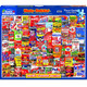 Wacky Packages puzzle box by White Mountain