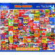 Wacky Packages 1000pc Jigsaw Puzzle by White Mountain