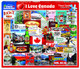 I Love Canada Puzzle by White Mountain