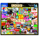 Fads Jigsaw Puzzle by White Mountain Box