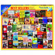 Best Sellers Jigsaw Puzzle by White Mountain Box