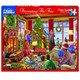 Decorating the Tree Jigsaw Puzzle Box by White Mountain
