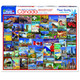 Best Places in Canada Puzzle by White Mountain