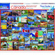 Best Places in Canada 1000pc Puzzle by White Mountain
