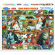 World of Cats Puzzle by White Mountain Puzzles