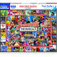 Broadway Musicals 1000pc Jigsaw Puzzle by White Mountain
