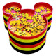 Disney's Mickey Mouse Puzzle Sort & Go Stackable Trays by Ravensburger Stacked