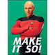 Star Trek Next Generation Picard Make It So