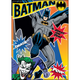 Batman and Joker - Jokes On You Flat Magnet