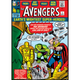 Marvel Comics Avengers Retro Comic Cover Flat Magnet
