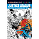 Cover - Justice League Colouring Book for Adults