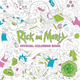 Cover - Rick and Morty Official Colouring Book