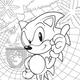 Sonic - SEGA The Official Colouring Book