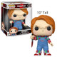 """Child's Play 10"""" Chucky Pop! Vinyl Figure by Funko Boxed View"""