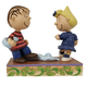Peanuts Pageant: Linus and Sally Dancing by Jim Shore figure