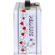 Side - I Heart Snoopy Tin Tote Lunch Box