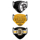 Set of 3 Boston Bruins Matchday Face Masks