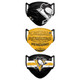 Set of 3 Pittsburgh Penguins Matchday Face Masks