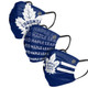 Toronto Maple Leafs Pleated Face Covers 3-Pack