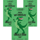 Dinosaur - Green Hot Chocolate 3-Pack