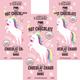 Unicorn Pink Hot Chocolate Packet